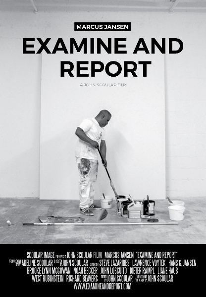 Marcus Jansen: Examine and Report Poster
